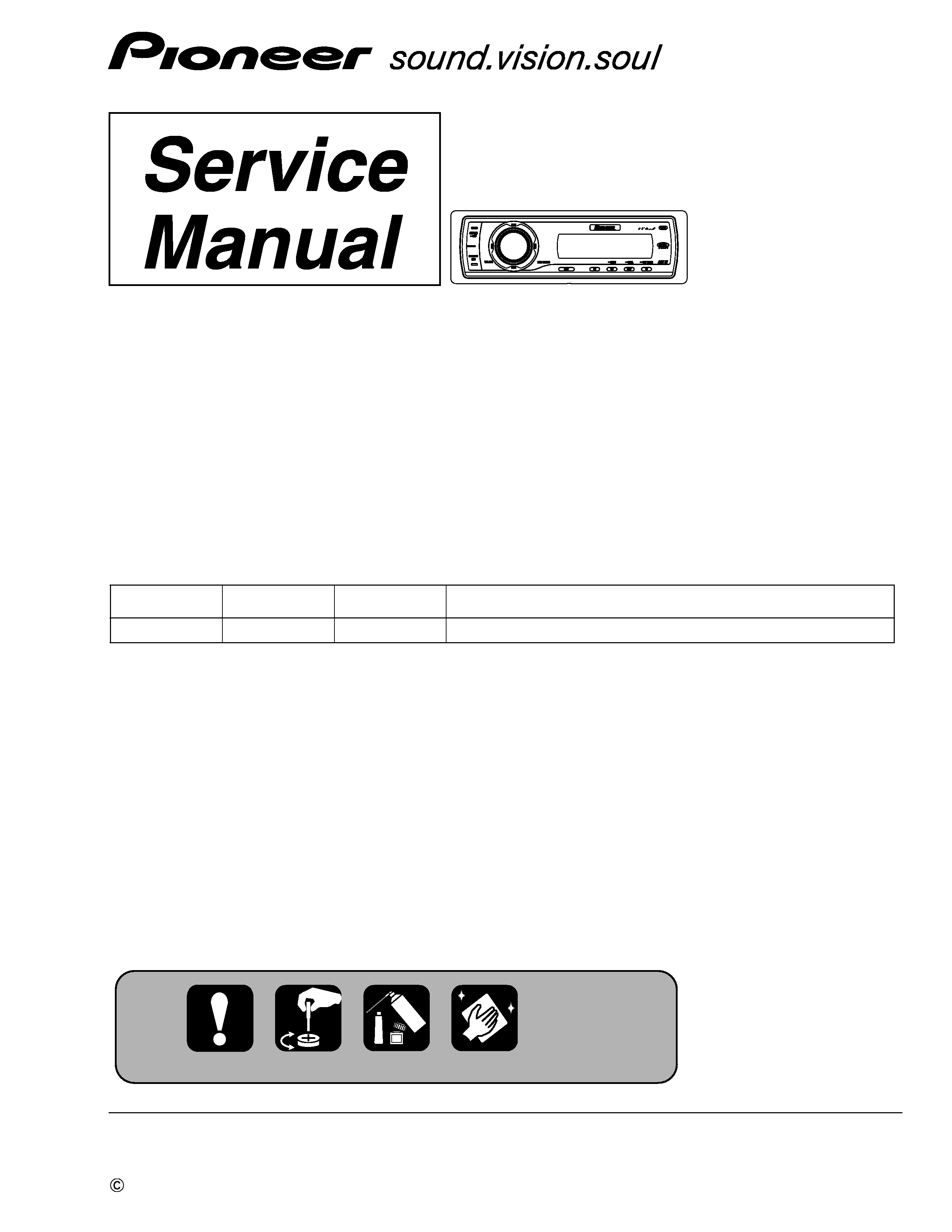 [SCHEMATICS_4ER]  PIONEER DEH-P5900IB - Service Manual Immediate Download | Wiring Diagram Pioneer Deh P5900ib |  | ManualsCenter.com