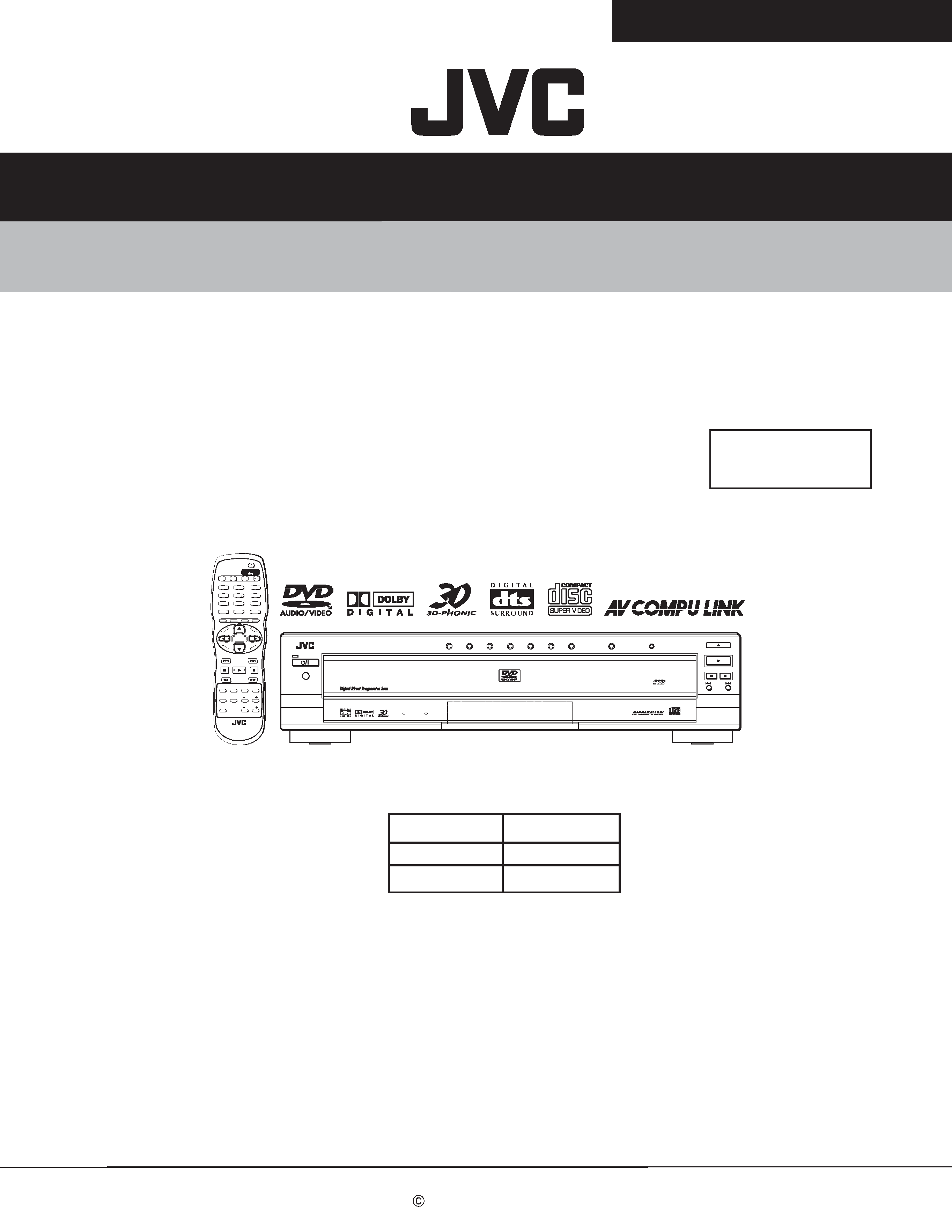 background image. SERVICE MANUAL. DVD AUDIO/VIDEO PLAYER