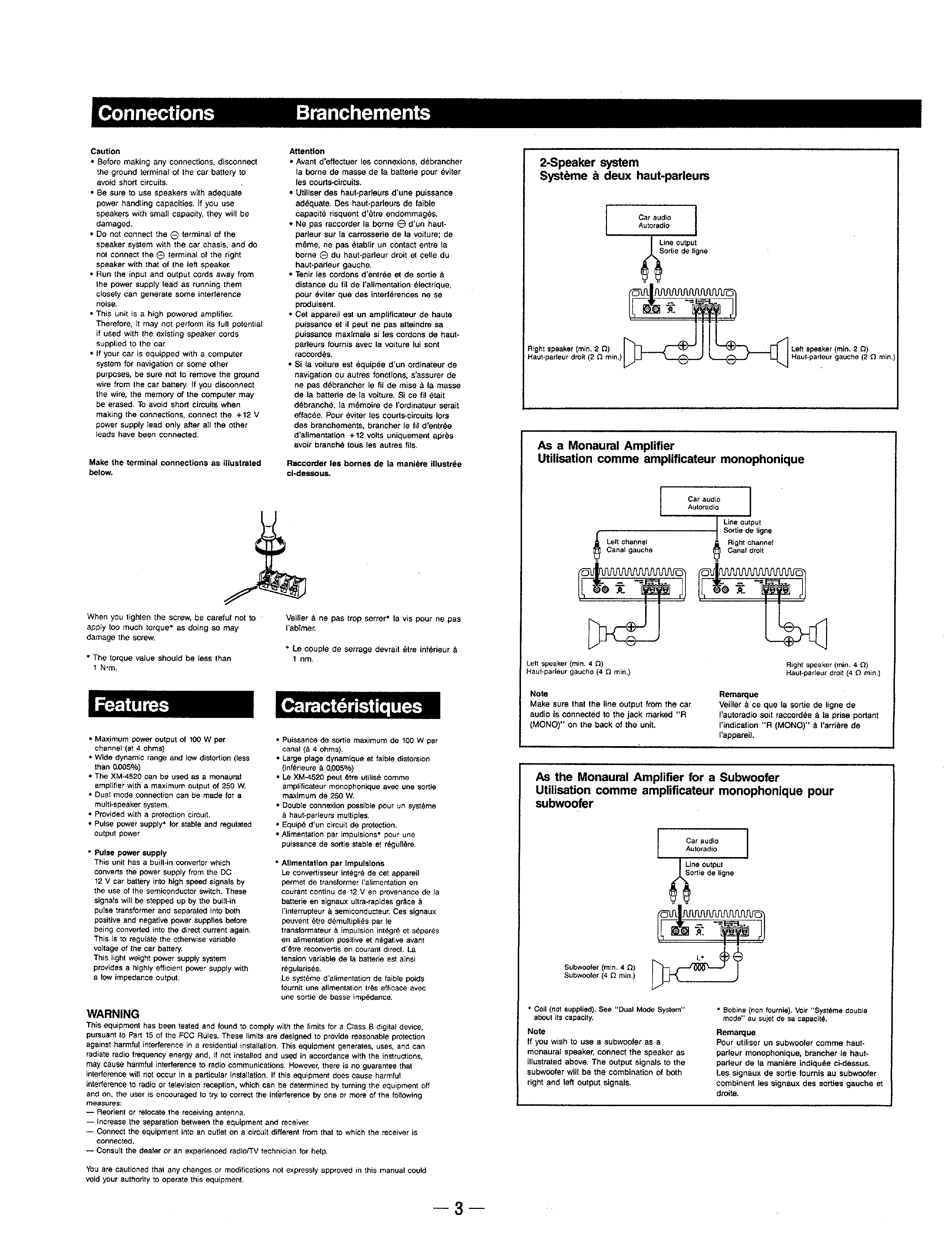 Sony Xm 4520 Amplifier Up Wire Diagrams Another Blog About Wiring De303 Diagram Service Manual Immediate Download Rh Manualscenter Com