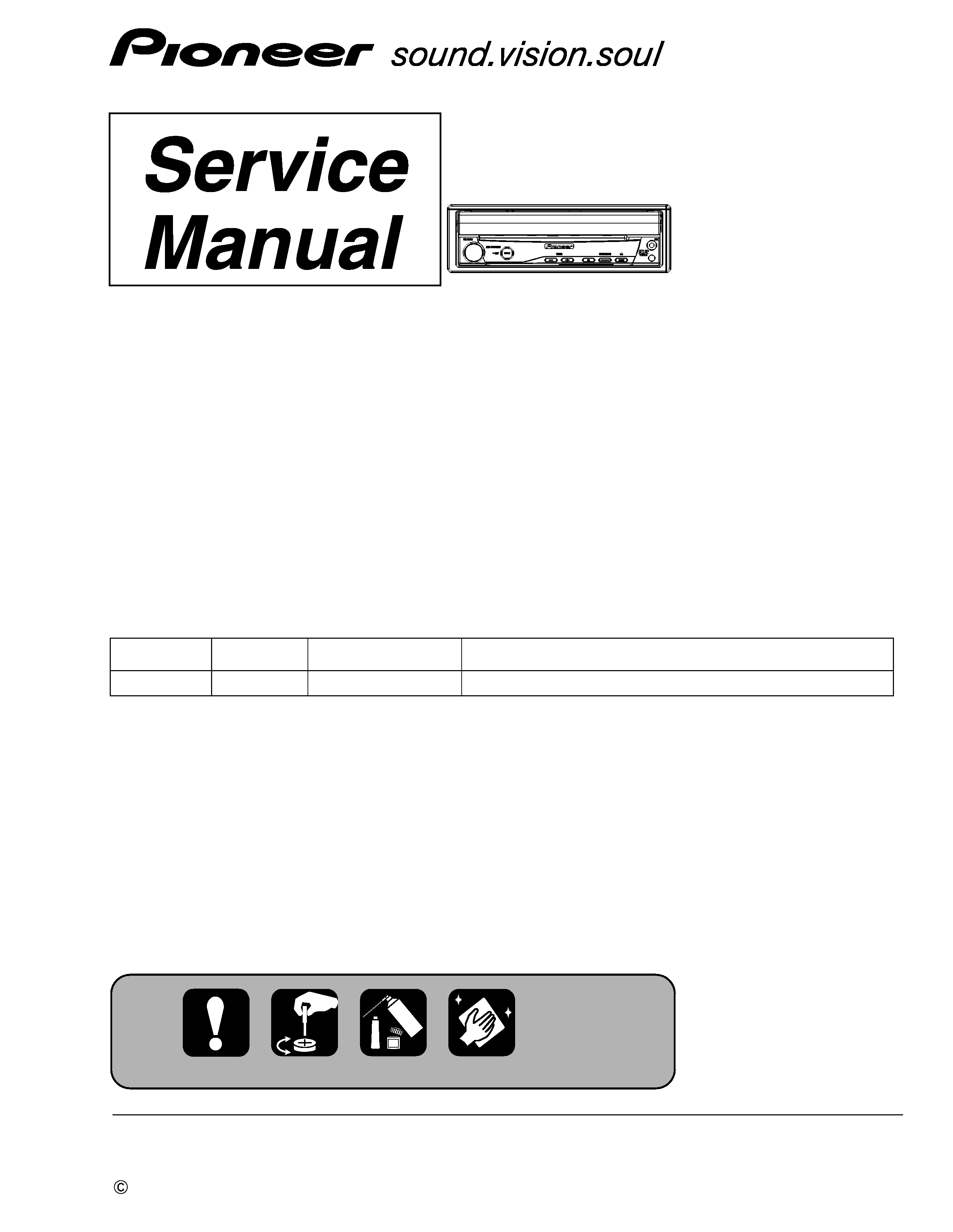 Pioneer Avh P5000dvd Xnew5 Service Manual Immediate Download Wiring Diagram Background Image