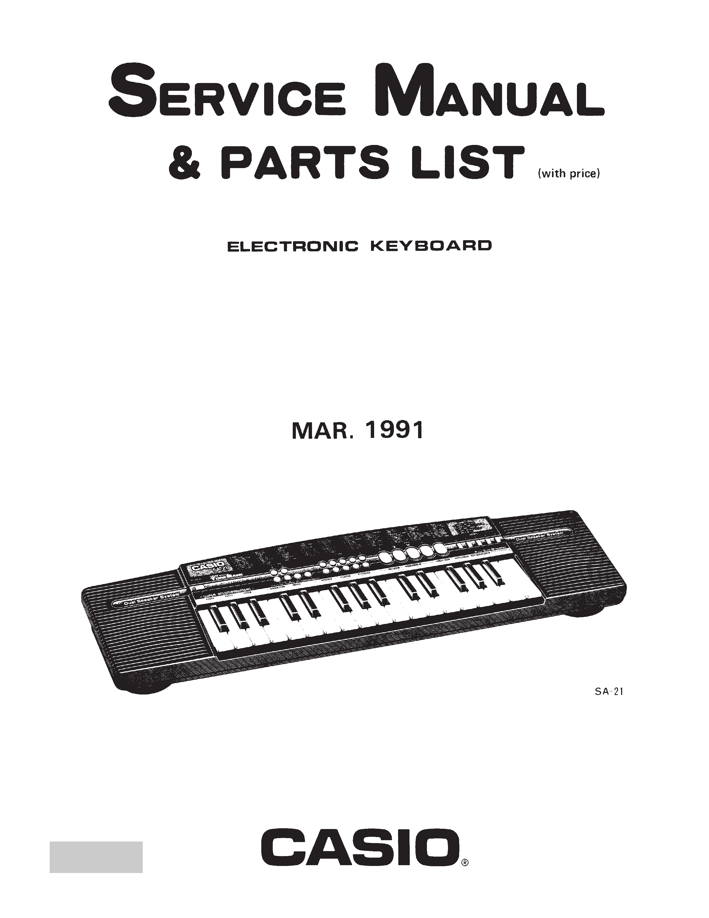 Casio cdp-120 service manual download, schematics, eeprom, repair.