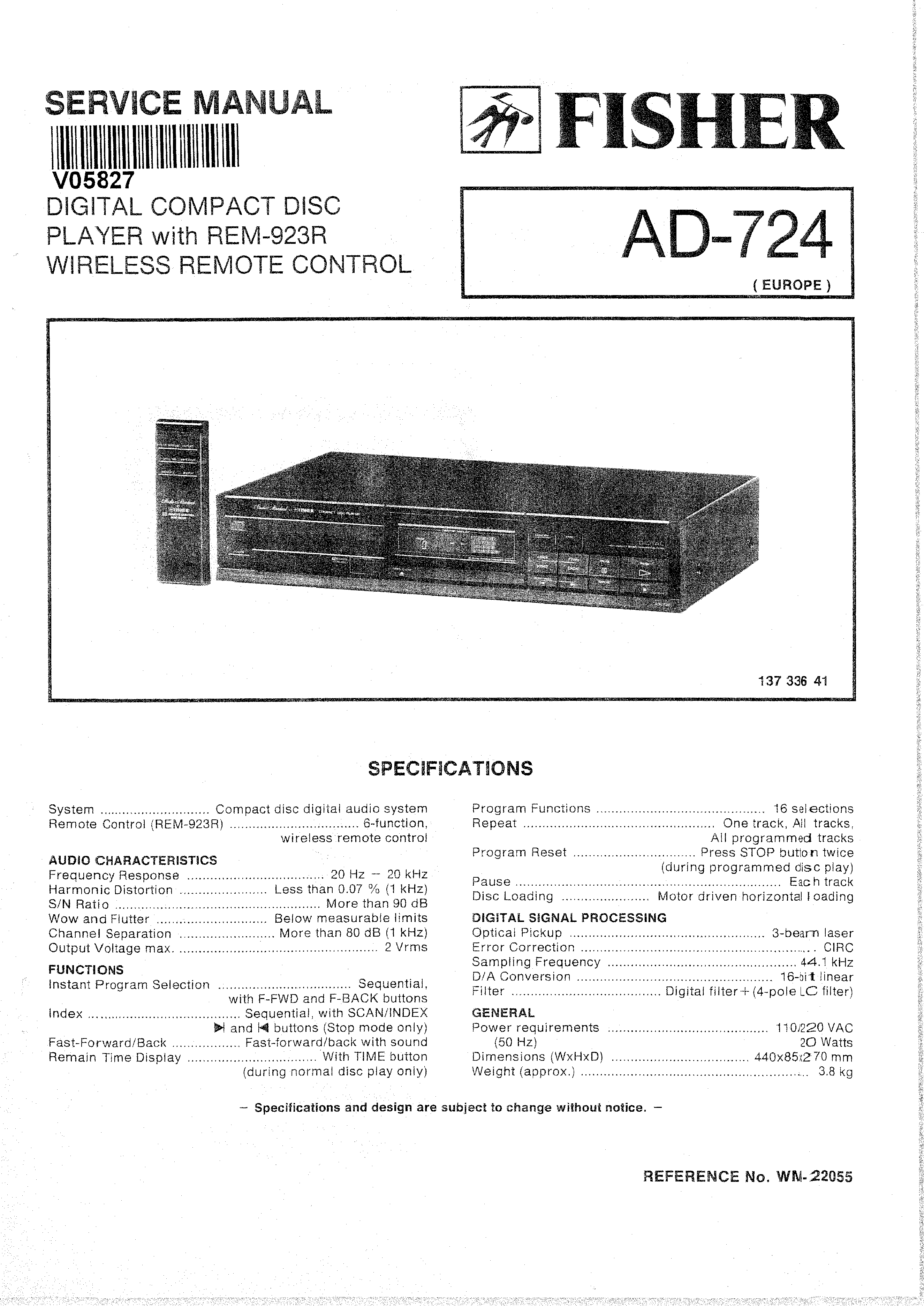 fisher stereo wiring diagram 270 wiring library Pioneer Radio Wiring Diagram background image fisher ad724 service manual immediate download background image fisher stereo wiring diagram 270