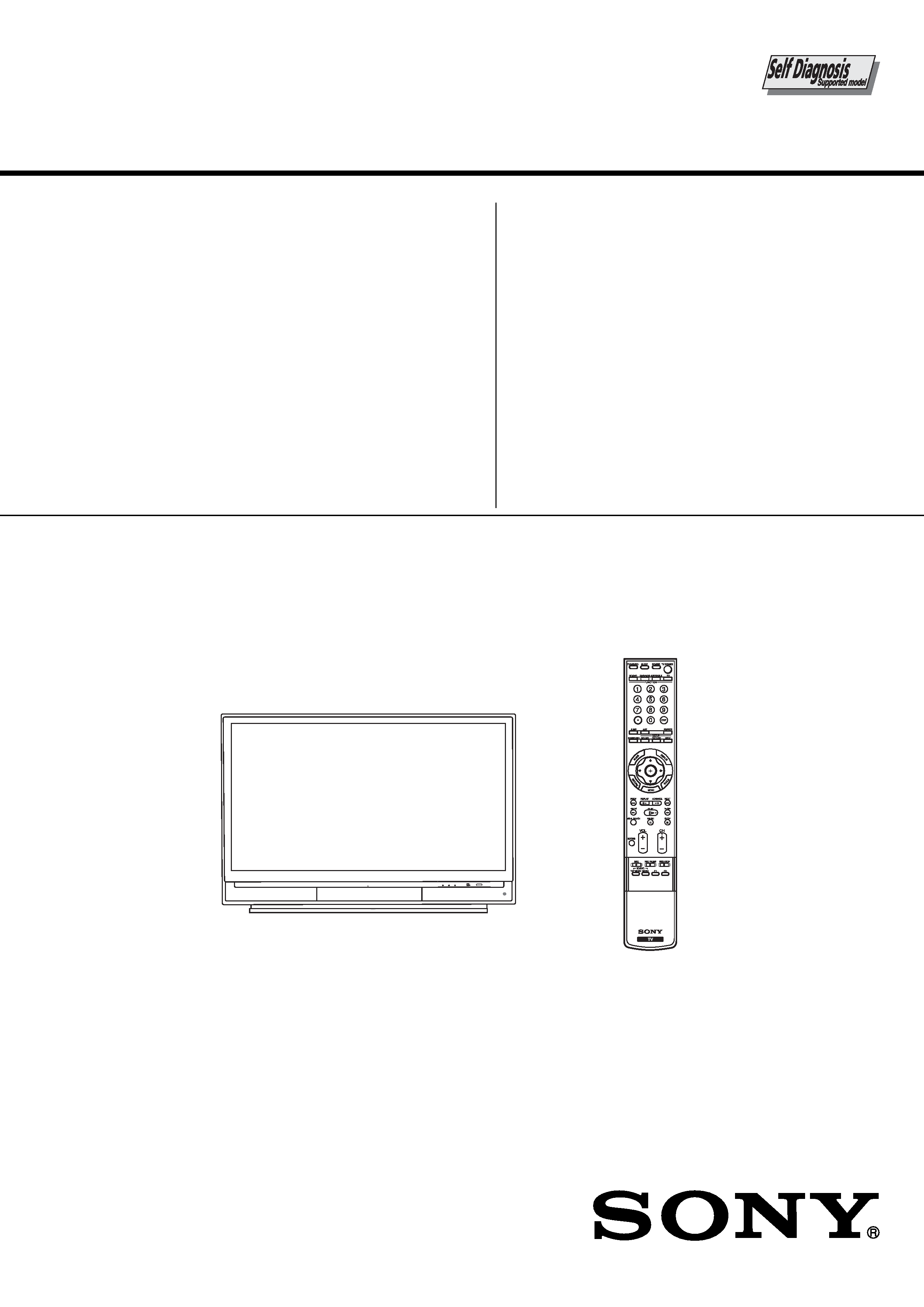 Sony Kds 55a2000 Service Manual Immediate Download