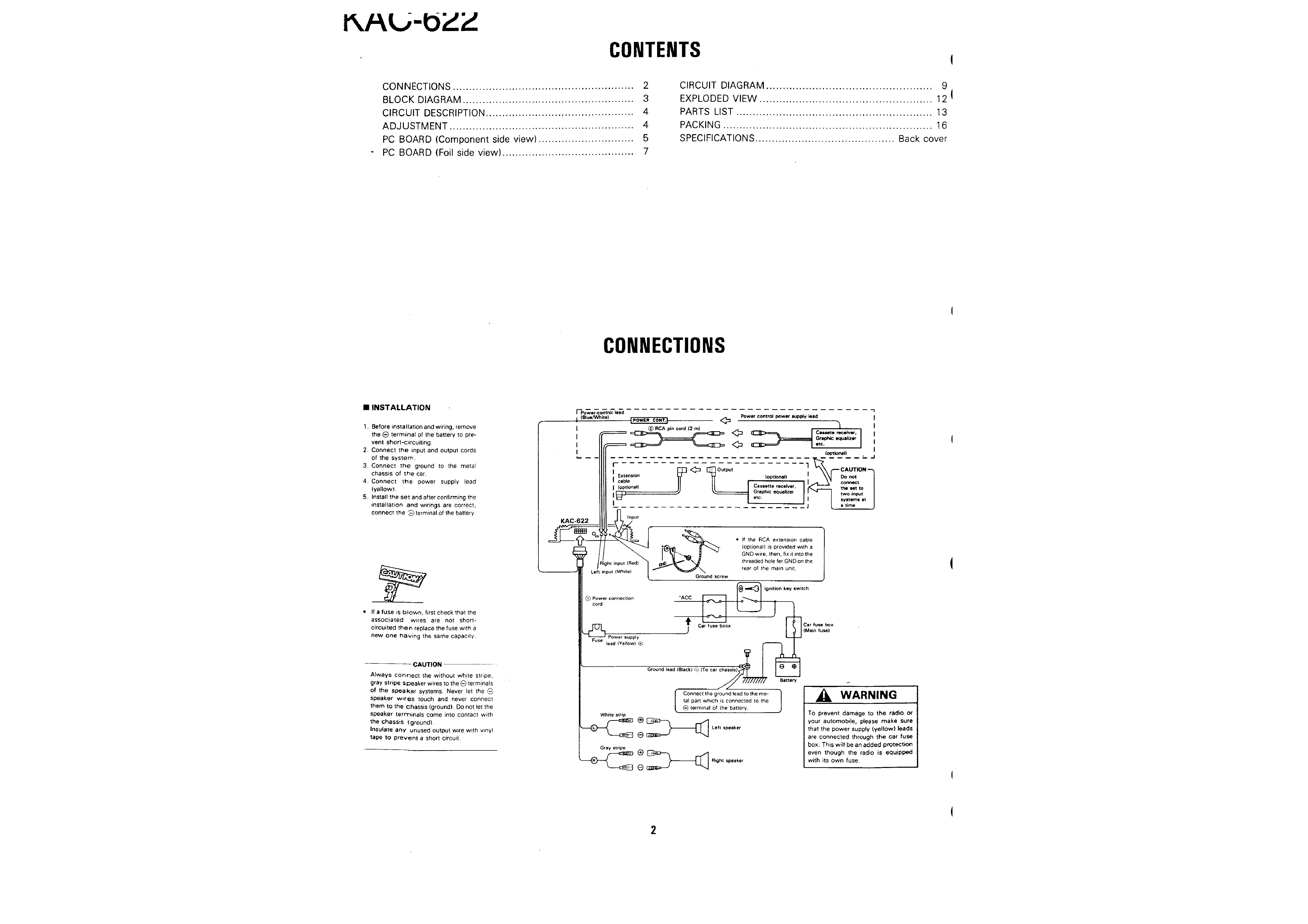 Kenwood Car Stereo Wiring Diagrams Kdc X591 Quick Start Guide Of Model X759 Diagram Kac 622 Harness 30 Images Mifinder Co
