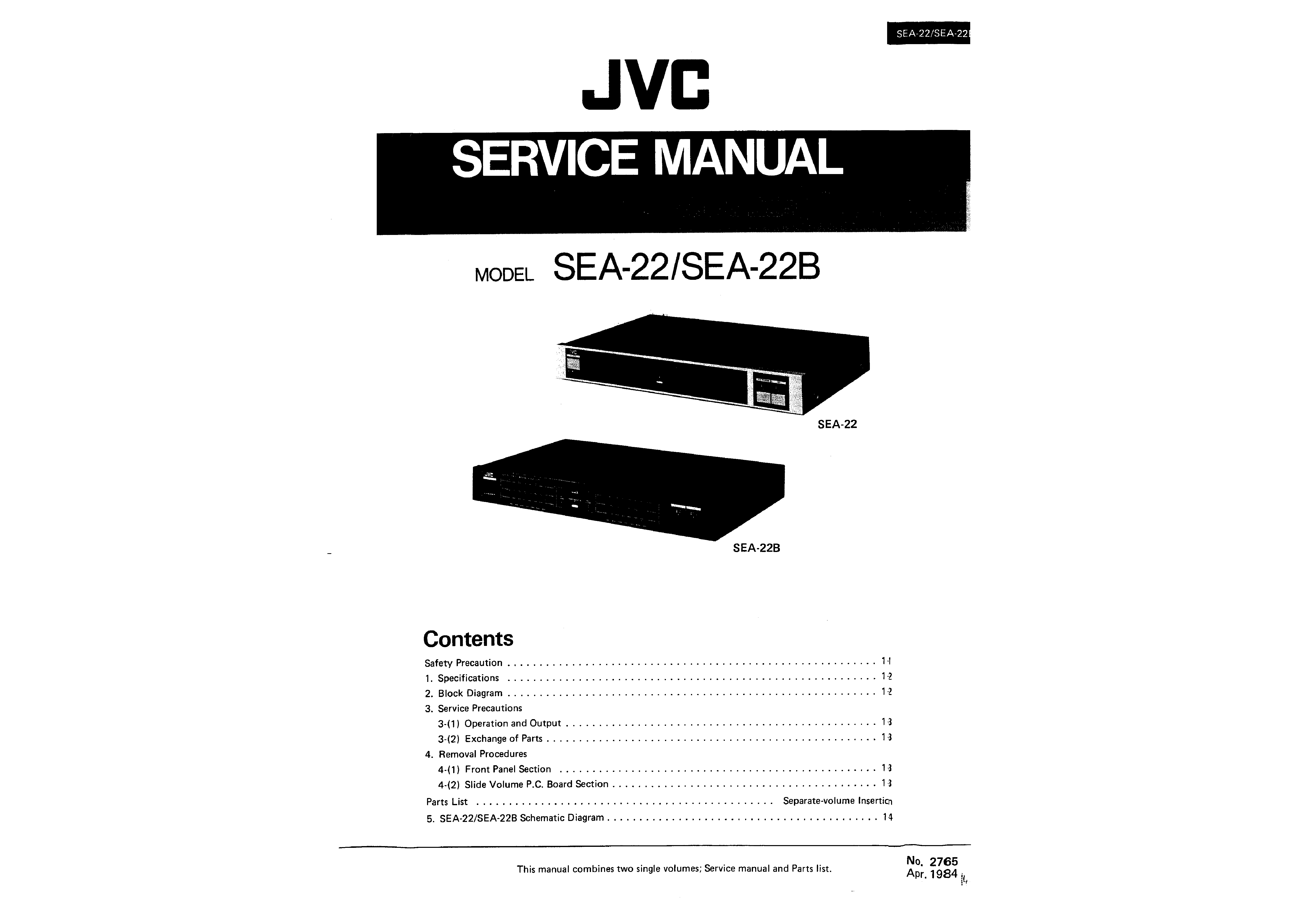 Sea22b Service Manual on jvc parts brand