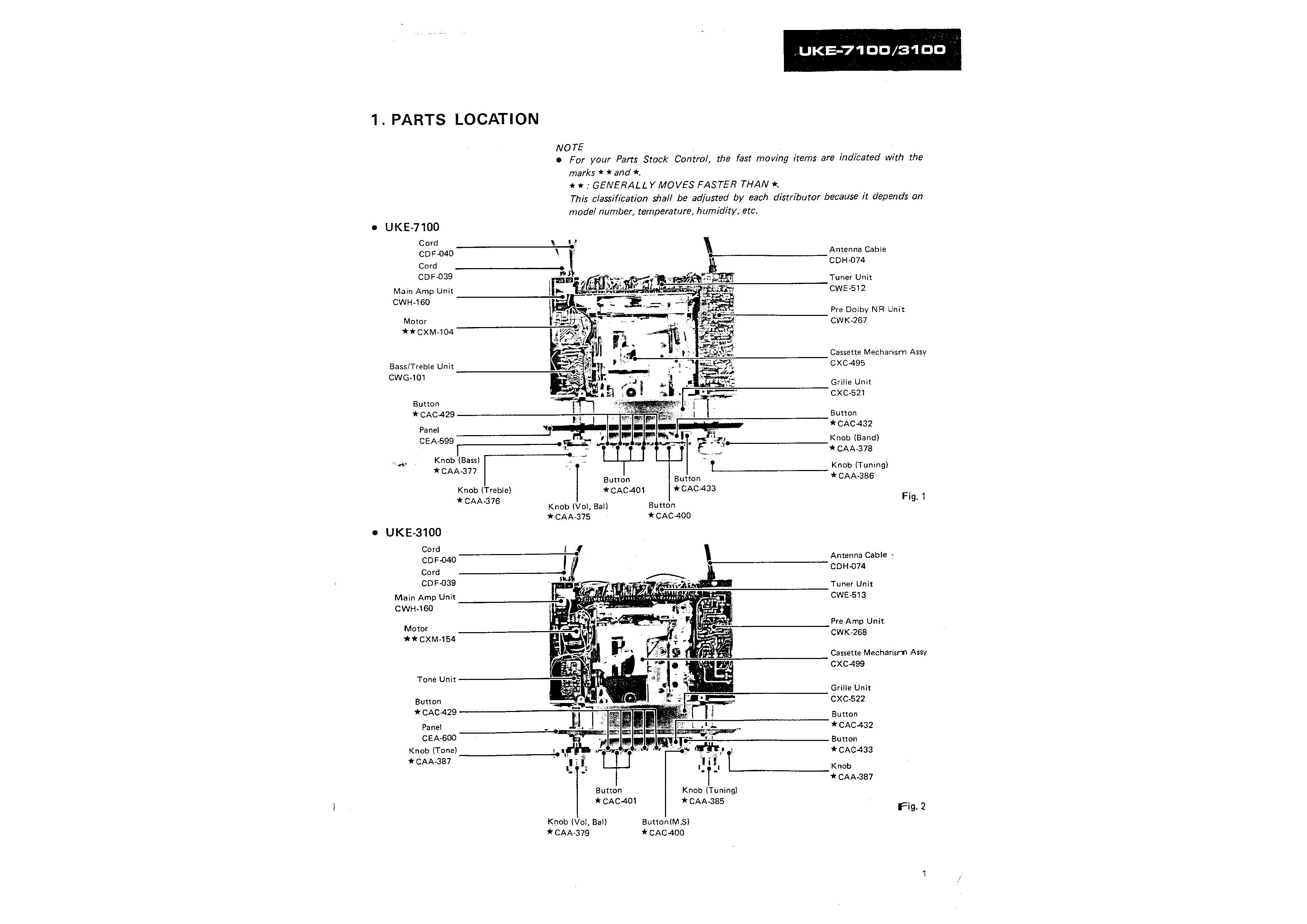 PIONEER XCL77 - Service Manual Immediate Download