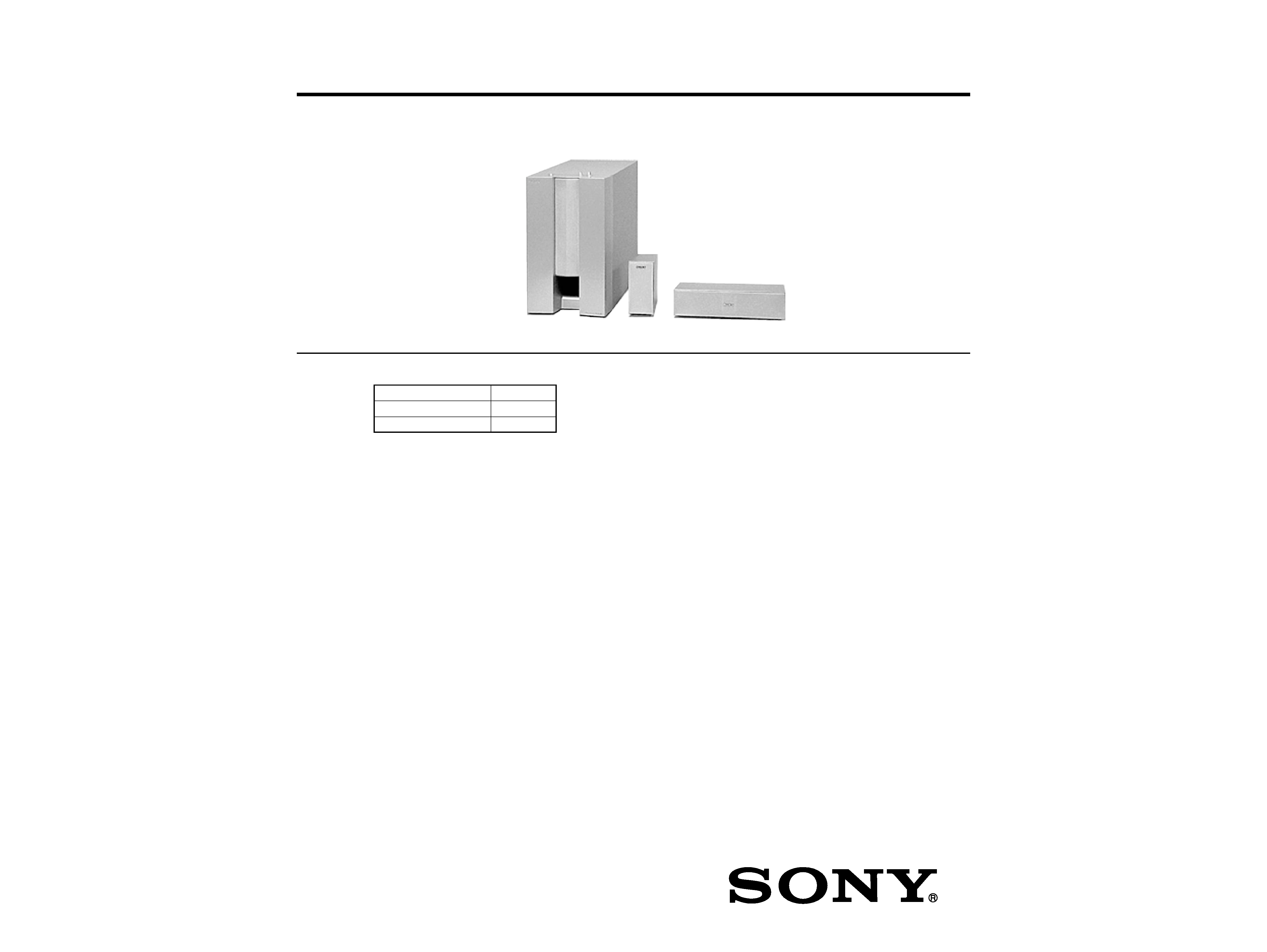 Sony Sa W30 Manual Powered Subwoofer System Auto Electrical Wiring Store Gtgt 944 2 Climate Control Ac Compressor Diagram Ssv335