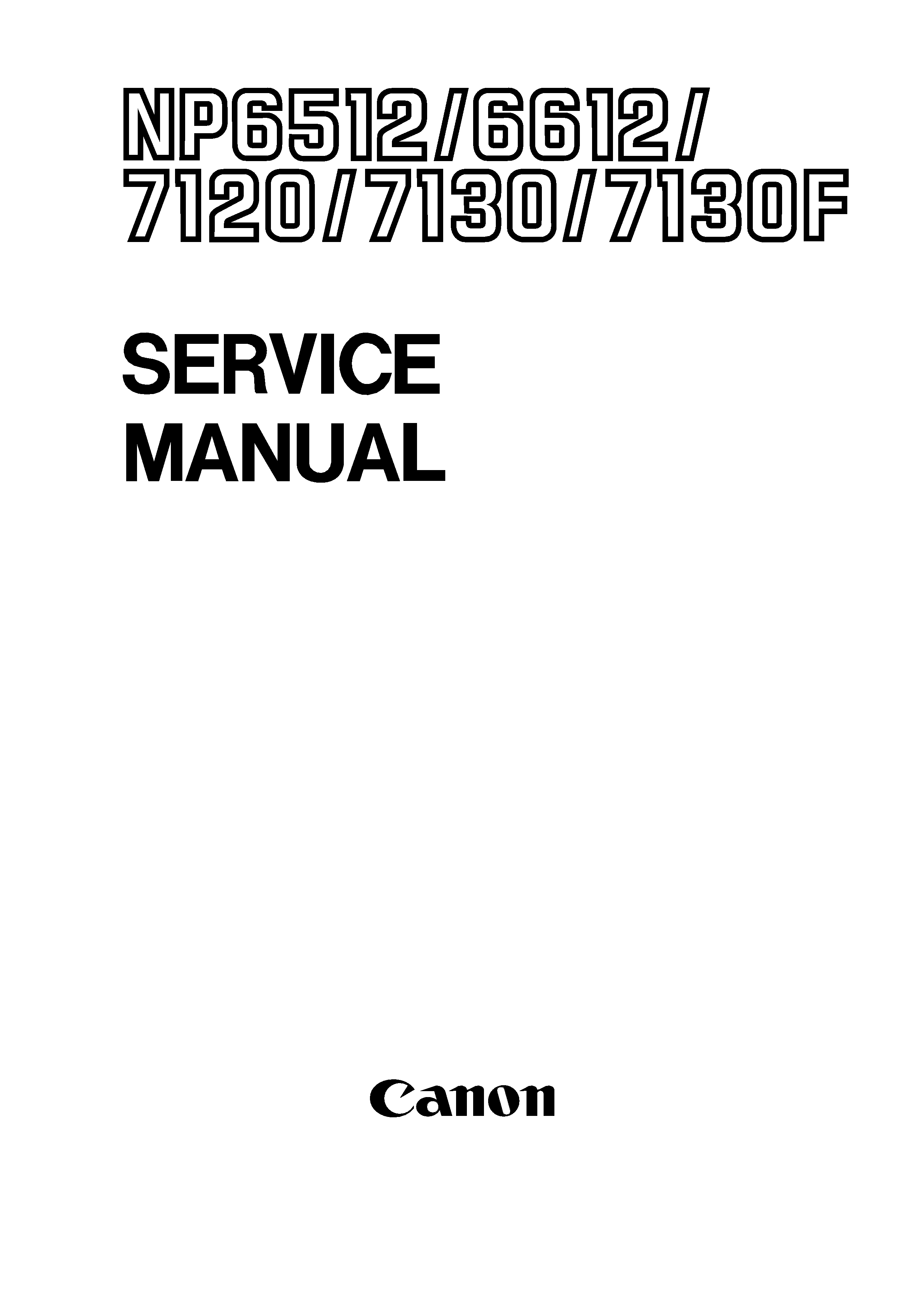 canon np6612 service manual immediate download. Black Bedroom Furniture Sets. Home Design Ideas