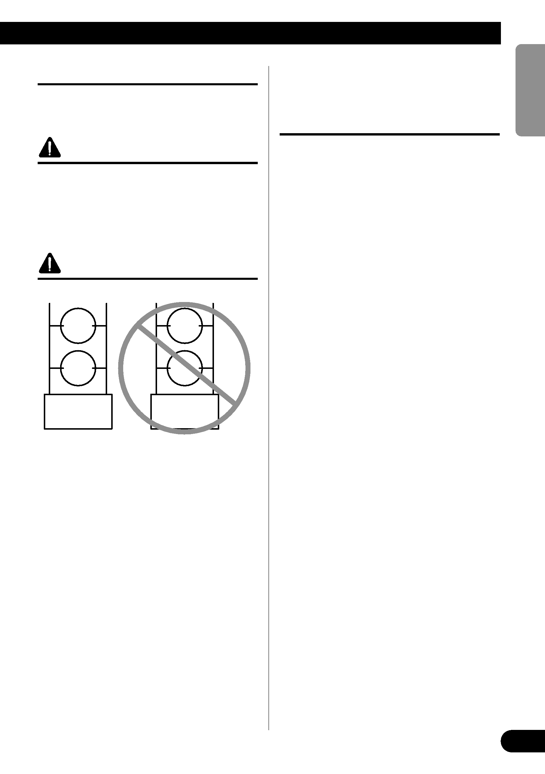 Speakers In Parallel With Bridged Center Manual Guide