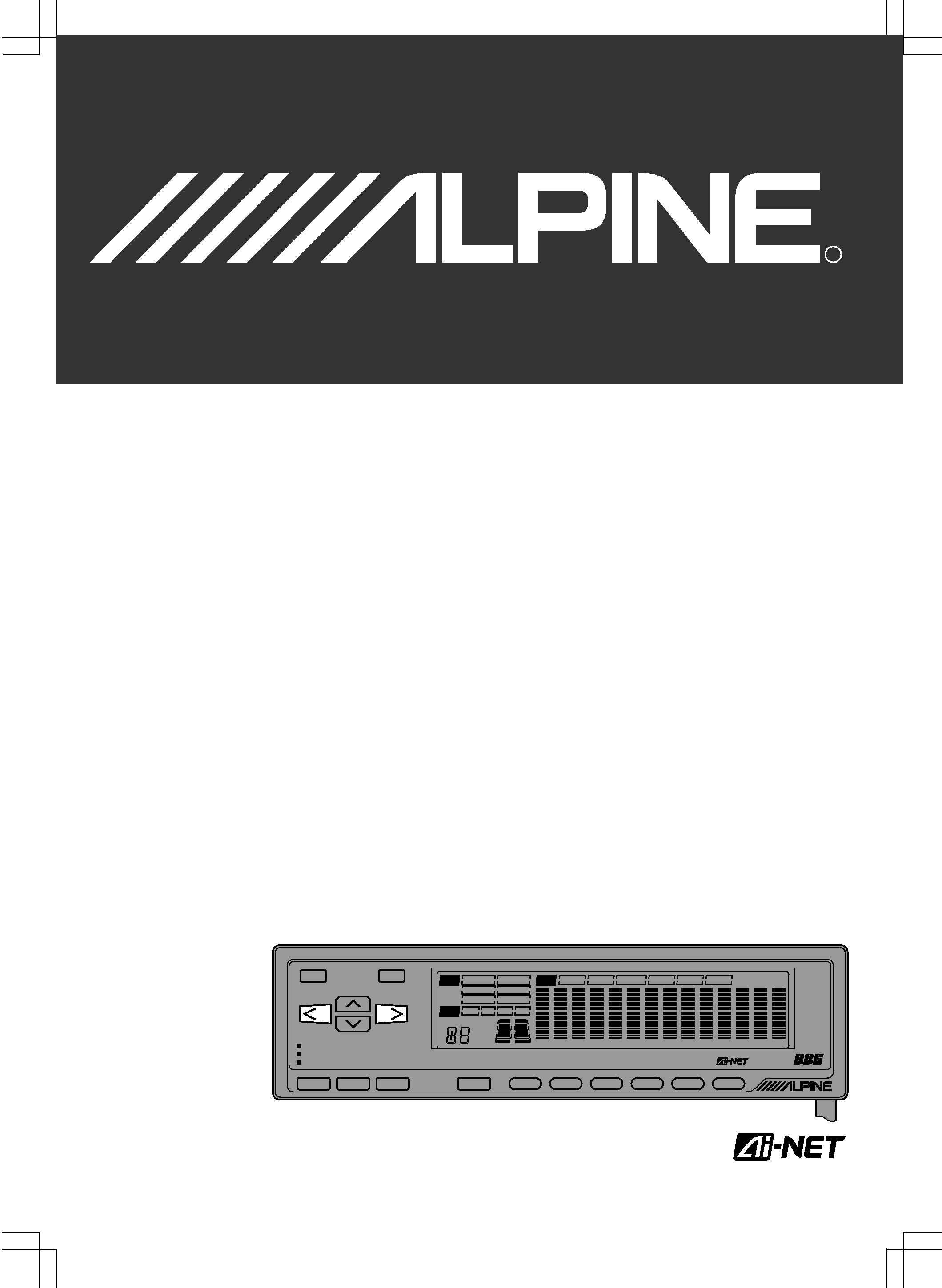 Alpine Era G320 Owner S Manual Immediate Download